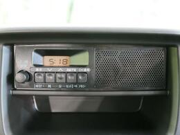 純正オーディオ☆ラジオの再生が可能です☆ナビへのお取替えもご相談ください!