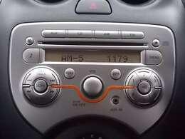 純正CDチューナーなのでインテリアデザインがぴったり素敵です♪