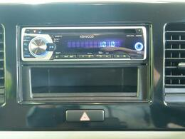 【KENWOODオーディオ】ラジオをはじめ、CD・AVX再生も可能です!なお、社外ナビもご案内可能ですのでお気軽にお問合せください!