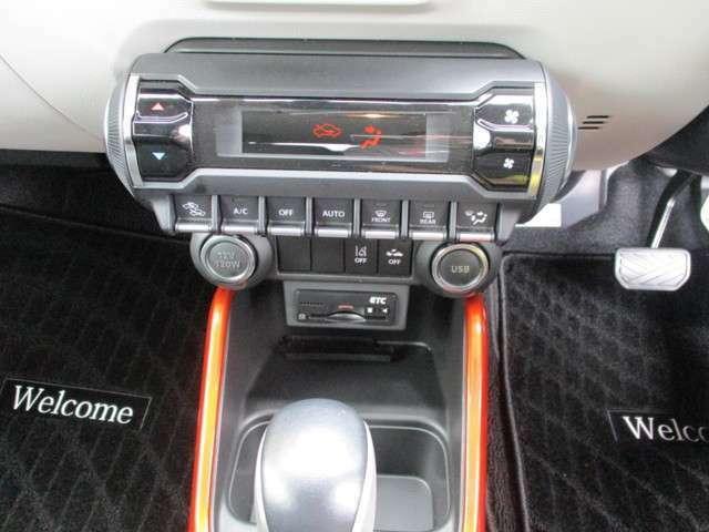 エアコンもシンプルまとめてあります!またお車によってさまざまな快適装備がついてますよ!