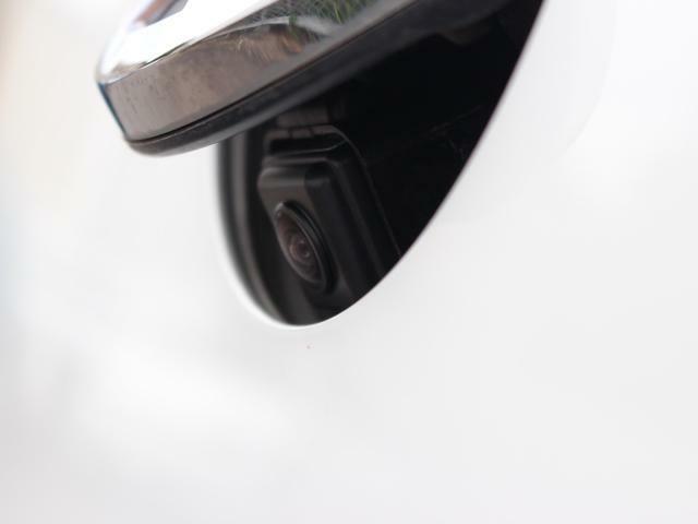 リアビューカメラはスマートなバックドアノブ内蔵型です。