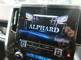 【アルパインBIG-X】操作性の良い社外大画面SDナビ付です♪車種別専用設計だからフィッティングもばっちりです♪