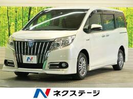 トヨタ エスクァイア 1.8 ハイブリッド Gi 純正9型ナビ TV 後席モニター フルエアロ