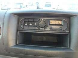 AM FMラジオ装備です