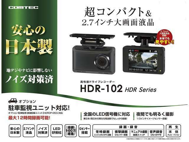 Aプラン画像:http://www.e-comtec.co.jp/0_recorder/hdr102.html