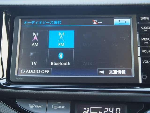 CD、Bluetooth、ワンセグ対応ナビ付きです☆