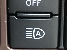 ◆オートハイビーム【先行車や対向車のライトを認識し、ハイビームとロービームを自動で切り替える機能です!!】