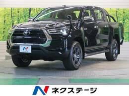 トヨタ ハイラックス 2.4 Z ディーゼルターボ 4WD 登録済未使用車 GRスポーツバー LEDヘッド