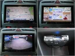 carrozzeriaメモリーナビ付☆フルセグTV/DVD/CD/Bluetooth/USB/AUX/オーディオスペックも◎車庫入れも安心なバックモニターや必須アイテムETCも装備!!