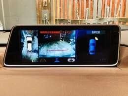 純正12.3型SDナビゲーション♪フルセグTV・Bluetooth・ブルーレイ再生搭載ナビ!パノラミックビューモニター☆駐車時も全方位確認で安心です☆