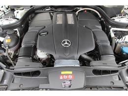 V6ツインカム3.5ツインターボエンジン!メルセデスベンツディーラーでメンテナンスしています。