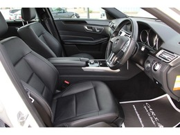 黒革パワーシートシート(3メモリー機能付き)・シートヒーター