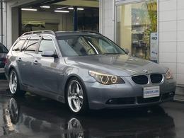 BMW 5シリーズツーリング 525i ハイラインパッケージ H&Rローダウン 19インチアルミ装着