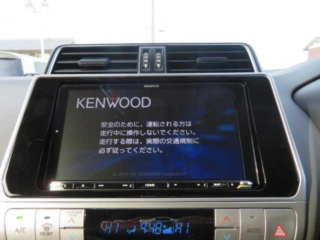 新品Kenwood9インチナビ付。
