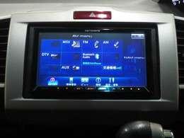 AV機能は、楽曲録音、フルセグ、DVD、CD、Bluetooth♪