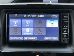 【純正ナビ(NSCD-W66)】CD/Bluetooth/SD/ワンセグTV