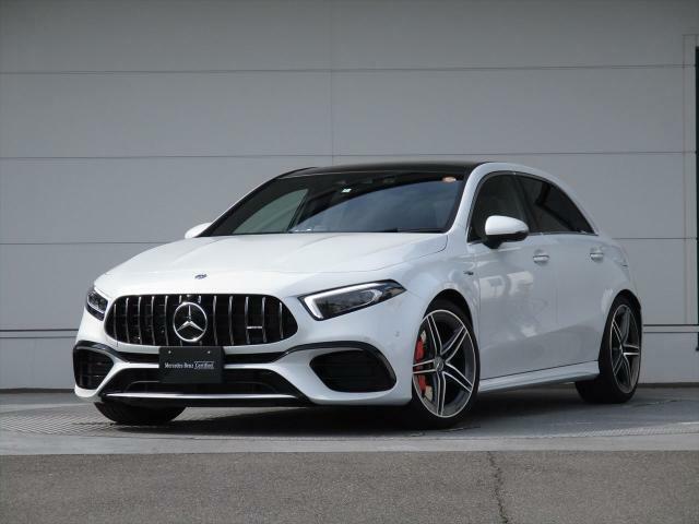 Mercedes-AMG A45S 4MATIC+ 装着オプション:AMGアドバンスドパッケージ/AMGパフォーマンスパッケージ/パノラミックスライディングルーフ