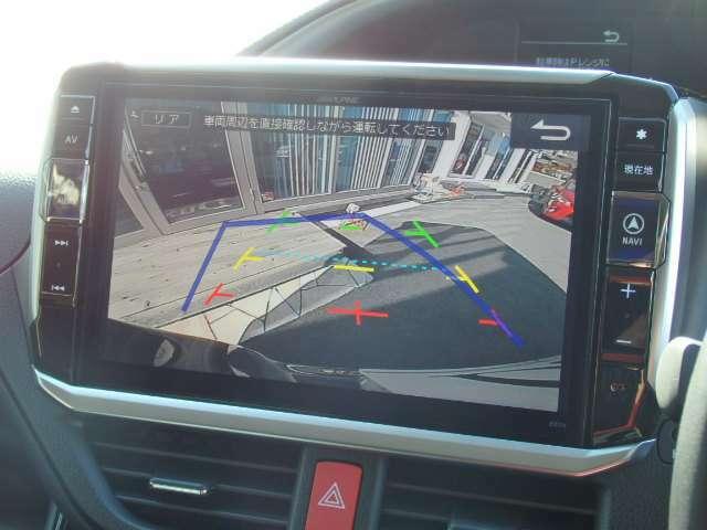 Bプラン画像:大きな車両でも安心して駐車できるバックカメラも勿論装着済みです☆