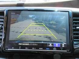 純正ギャザーズ9型メモリーナビ付き♪ ガイド線付バックカメラで駐車も安心ですね♪ 広角のカメラで駐車も安心です♪