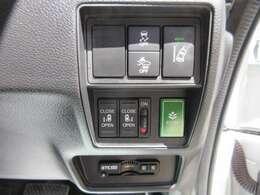 運転席手元にスイッチが装着されております♪ 安心安全のホンダセンシング&両側パワースライドドア機能♪ 純正ETC付きとなります♪