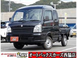 スズキ キャリイ 660 スーパーキャリイ L 3方開 4WD 届出済未使用車 ブラックパール 4WD AT