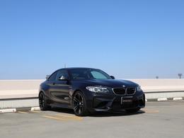 BMW M2クーペ M DCT ドライブロジック 1オーナー パフォーマンススポ 黒革