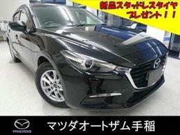 マツダ アクセラスポーツ 1.5 15S 4WD 衝突軽減ブレーキ 新品冬タイヤプレゼン ト