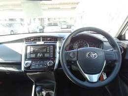 安心して運転出来るように広々とした視界が確保されています!!取り回しもよく車輛感覚がつかみやすい車です♪