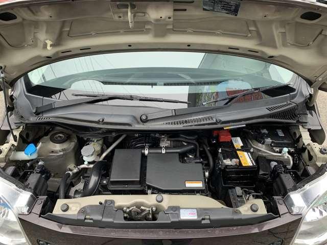 エンジンはR06Aでタイミングチェーン式となります。 K6Aエンジンの後継となり、とても信頼性の高いスズキのメインエンジンとなります。 ワゴンRの他、ハスラーやジムニーなど様々な車種に搭載されています