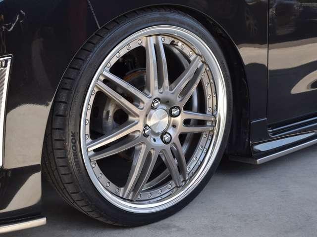 GLANZエアロパーツ・新品WORK17インチアルミ・新品タイヤ(当社指定品)・新品車高調(当社指定品)