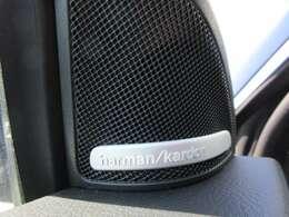 輸入車で人気のハーマンカードンオーディオシステム♪ ワンランク上の音質を感じることが出来ます♪