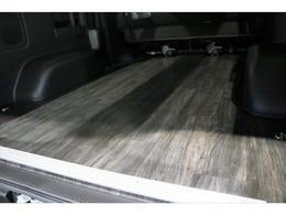 床張り施工済みですので汚れも気にせず積めちゃいますね!