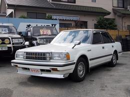 トヨタ クラウンセダン ロイヤルサルーンG ツインカム24 MS123・社外ショック/スプリング