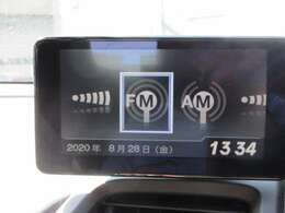 FM・AMラジオを聴くことができます♪