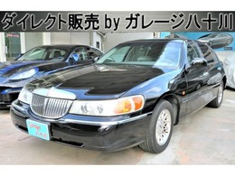 リンカーン タウンカー シグネチャー ベンコラ ディーラー車 記録簿付