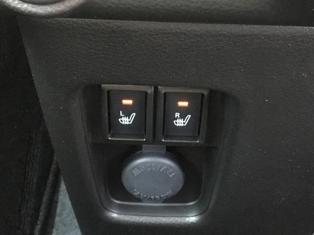 冬場に嬉しいシートヒーター。早く温まるので嬉しいですね♪