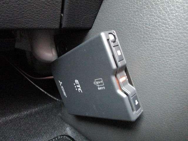 ETCも搭載されています。高速のスマートICも利用できて、より便利に。