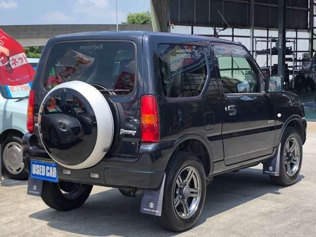 斜め後ろ(*^^)v高速道路にて試乗走行確認済の車両です。機関、装備動作状況は良好です。保証付き販売も承ります。お客様のニーズにピッタリで大好評オプションです。詳しくはスタッフまでお問合せ下さい!
