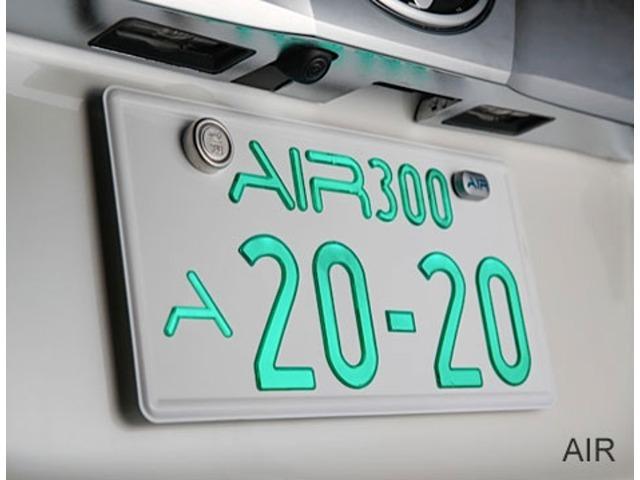Bプラン画像:国土交通省認可を受けた車検対応モデル。 陸運局でのリアナンバープレート封印も可能となっている。
