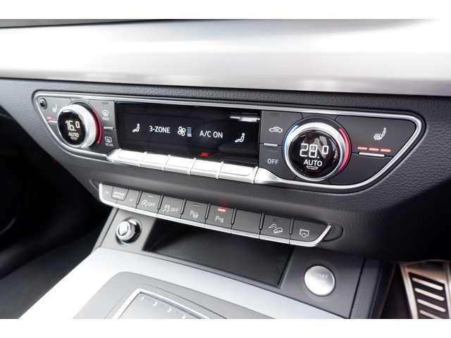 左右独立型エアコンディショナーを装備しております。シートヒーター完備ですので寒い時期も快適にお過ごし頂けます。