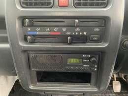 【純正カーラジオ】インパネにすっきり収まり、とても使いやすいです!ラジオを聴きながら運転をお楽しみいただけます!