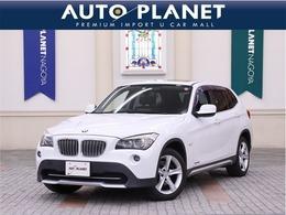 BMW X1 xドライブ 28i 4WD 禁煙車 サンルーフ 黒革S シートH