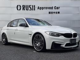 BMW M3セダン M DCT ドライブロジック コンペティションパッケージ装着車 黒革 19インチAW LED インテリセーフ