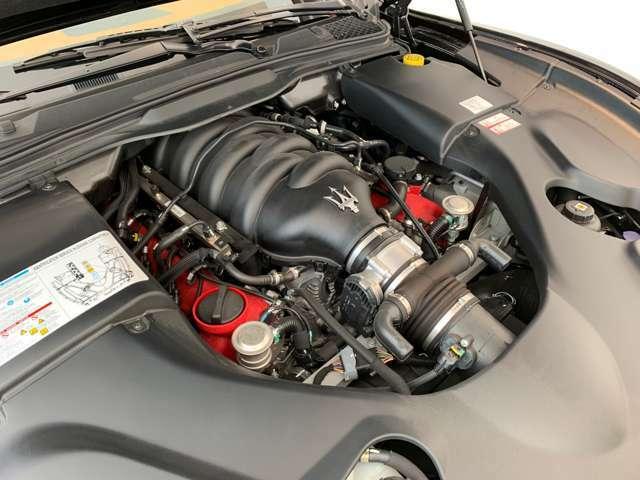 キャバリーノランパンテ、サプライアーメーカとのコラボが光るエンジンです。