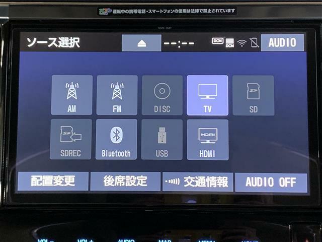 【純正10型ナビ(NSZN-Z68T)】CD/DVD/SD/MSV/Bluetooth/フルセグTV