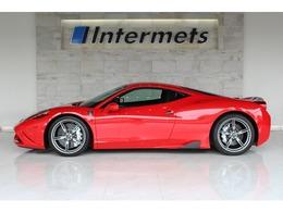 フェラーリ 458スペチアーレ F1 DCT 404km フロントリフトS NARTレーシングS