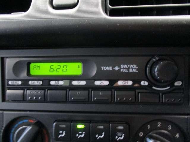 ラジオチューナー付き☆