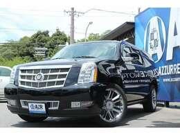 2011y キャデラックエスカレード プラチナム ESV 新車並行車 プラチナム専用インテリア アルパインナビ 社外ナビ 入庫しました!