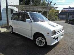 軽自動車パワーウォーズの火付け役!L70ミラ!そのホットバージョンの「TR-XX」!今もなお人気の高いお車です!