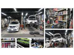 当社の在庫は最初に工場でベテランの国家資格整備士によるメンテナンスを実施してから展示させて頂いております。